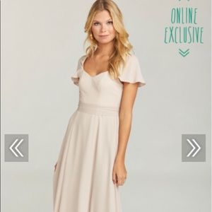 bridesmaid dress, colors show me the ring